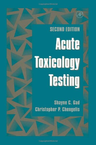 9780122722509: Acute Toxicology Testing, Second Edition