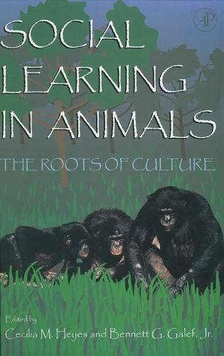 9780122739651: Social Learning In Animals: The Roots of Culture