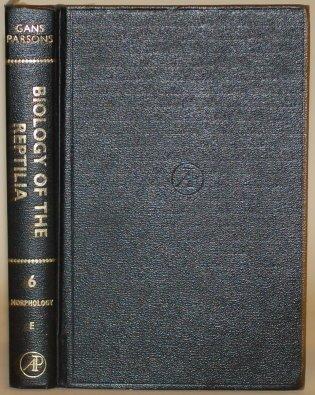 9780122746062: Biology of the Reptilia, Vol. 6: Morphology E (v. 6)