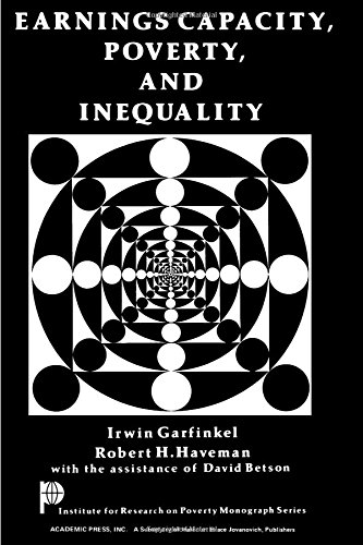 9780122758508: Earnings Capacity, Poverty, and Inequality (Institute for Research on Poverty monograph series)
