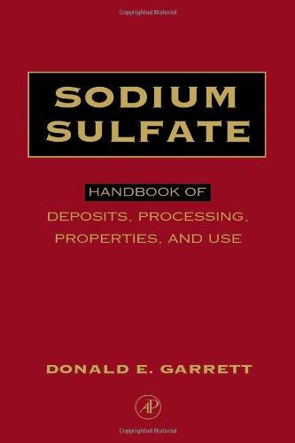 9780122761515: Sodium Sulfate: Handbook of Deposits, Processing, & Use: Handbook of Deposits, Processing, and Use