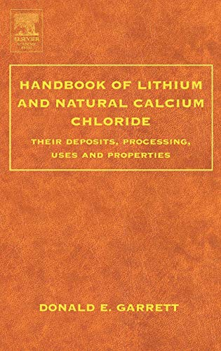 9780122761522: Handbook of Lithium and Natural Calcium Chloride