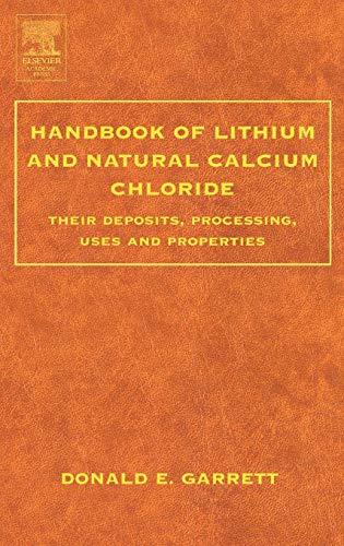 9780122761522: Handbook of Lithium and Natural Calcium Chloride