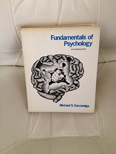 9780122786501: Fundamentals of Psychology: An Introduction
