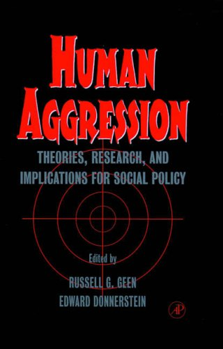 9780122788055: Human Aggression: Theories, Research, and Implications for Social Policy
