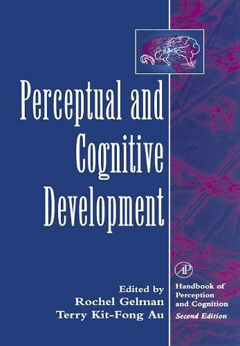 9780122796609: Perceptual and Cognitive Development (Handbook Of Perception And Cognition)