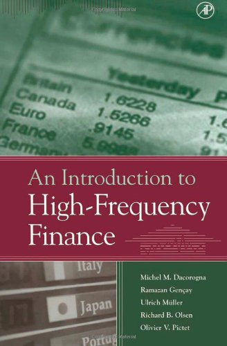 9780122796715: An Introduction to High-Frequency Finance