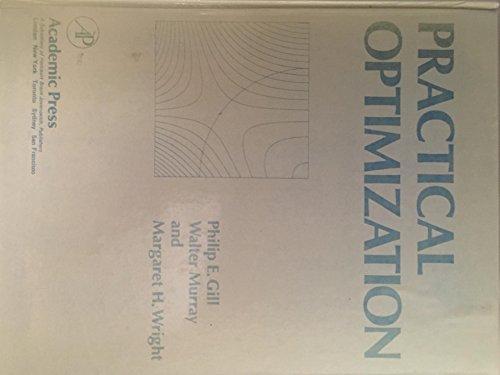 9780122839504: Practical Optimization