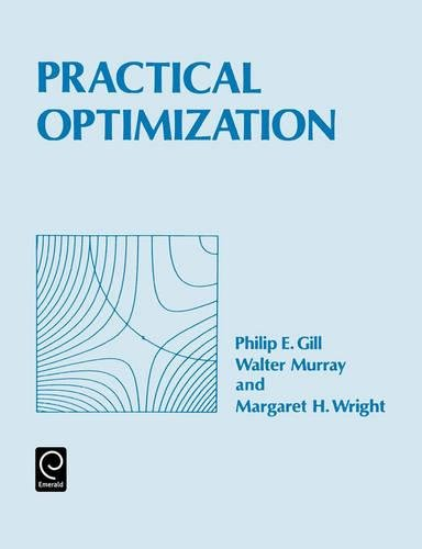 9780122839528: Practical Optimization