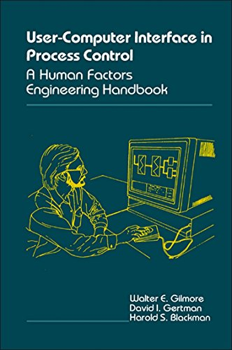 9780122839658: The User-Computer Interface in Process Control: A Human Factors Engineering Handbook