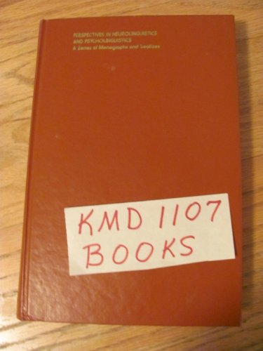 9780122854507: On Understanding Grammar (Perspectives in neurolinguistics and psycholinguistics)