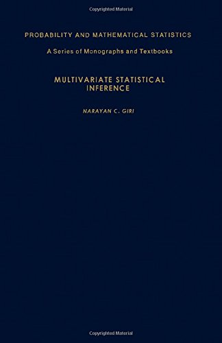 9780122856501: Multivariate Statistical Inference