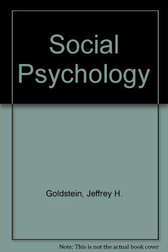 9780122870552: Social Psychology