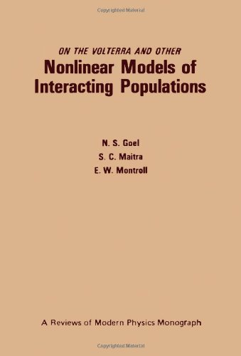 9780122874505: On the Volterra and Other Nonlinear Models of Interacting Populations