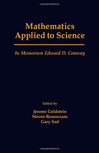 9780122895104: Mathematics Applied to Science: In Memoriam Edward d. Conway