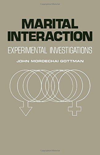 9780122931505: Marital Interaction: Experimental Investigations
