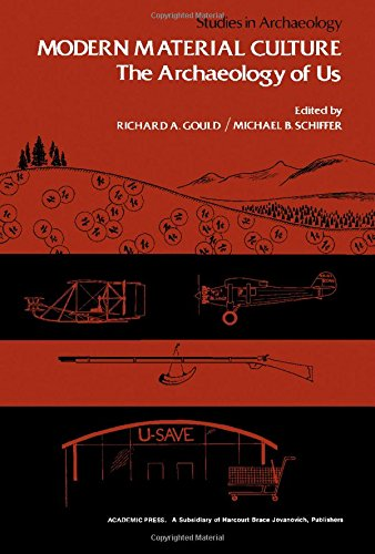 Modern Material Culture: The Archaeology of Us: Editor-Richard A. Gould;
