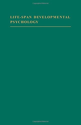 9780122938504: Life-Span Developmental Psychology: Research and Theory