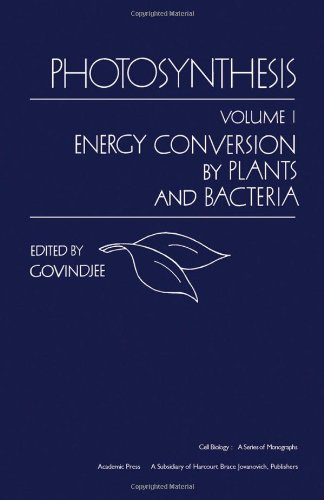 Photosynthesis : Volume 1 Energy Conversion By Plants and Bacteria
