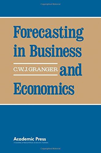 9780122951800: Forecasting in Business and Economics