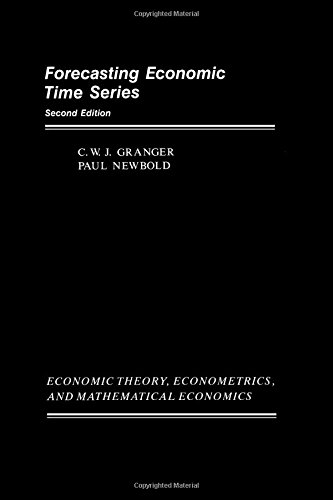 9780122951831: Forecasting Economic Time Series (Economic Theory, Econometrics, and Mathematical Economics)