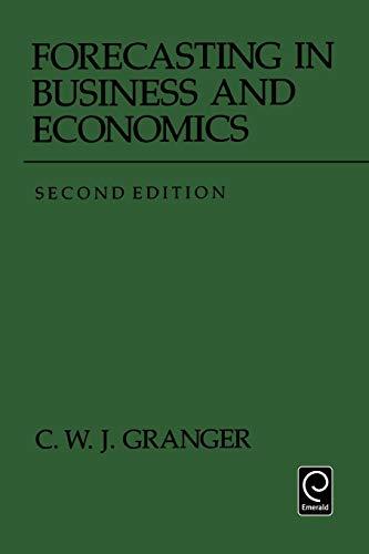 9780122951848: Forecasting in Business and Economics (Economic Theory, Econometrics, and Mathematical Economics)