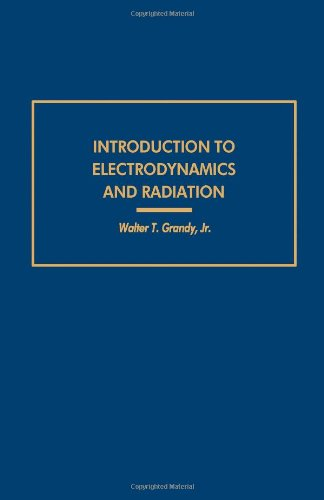 9780122952500: Introduction to Electrodynamics and Radiation (Pure & Applied Physics)