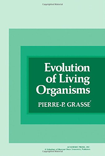 9780122955501: Evolution of Living Organisms (English and French Edition)