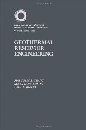 9780122956201: Geothermal Reservoir Engineering (Energy science and engineering)
