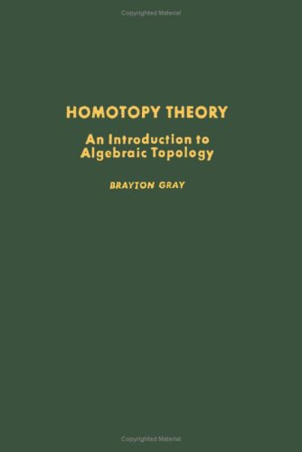 9780122960505: Homotopy Theory: Introduction to Algebraic Topology (Pure and applied mathematics)