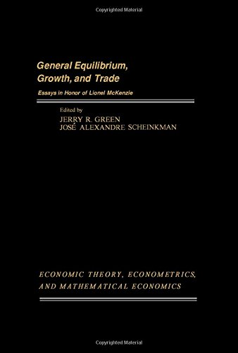 9780122987502: General Equilibrium, Growth and Trade: Essays in Honour of Lionel Mackenzie v. 1 (Economic theory, econometrics, and mathematical economics)