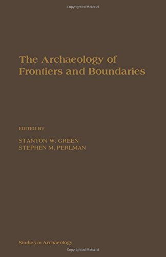 9780122987809: The Archaeology of Frontiers and Boundaries (Studies in Archaeology Series)