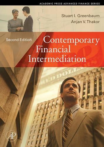 9780122990533: Contemporary Financial Intermediation, Second Edition (Academic Press Advanced Finance)