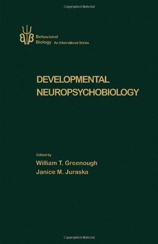 9780123002709: Developmental Neuropsychobiology (Behavioral Biology, An International Series)