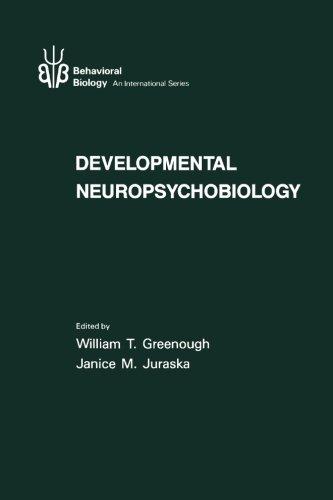 9780123002716: Developmental Neuropsychobiology (Behavioral Biology Series)