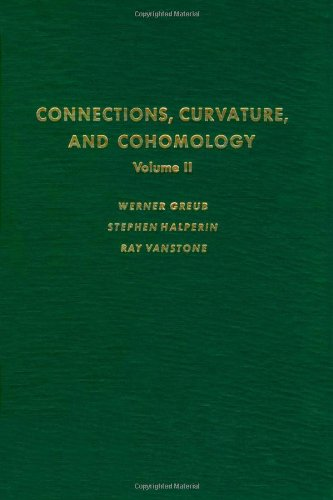 9780123027023: Connections, Curvature, and Cohomology. Vol. 2: Lie Groups, Principal Bundles, and Characteristic Classes (Pure and Applied Mathematics Series; v. 47-II)