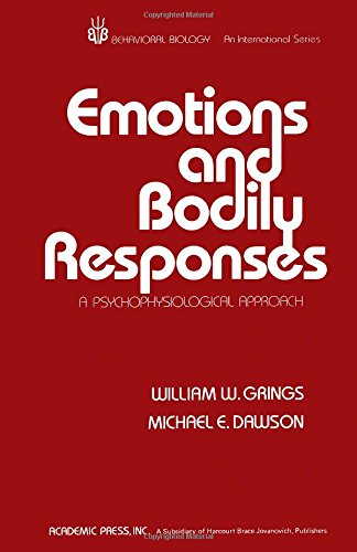 9780123037503: Emotions and Bodily Responses (Behavioral biology)