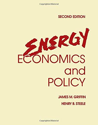 9780123039521: Energy Economics and Policy