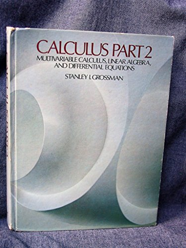 9780123043023: Multivariable Calculus, Linear Algebra and Differential Equations