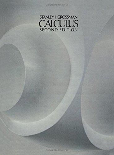 9780123043603: Calculus