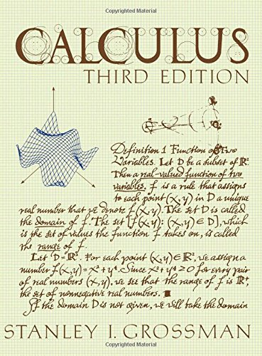 9780123043719: Calculus: Third Edition