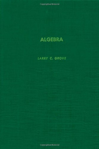 9780123046208: Algebra (Pure & Applied Mathematics)