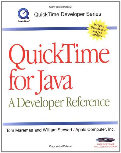 9780123054401: QuickTime for Java: A Developer Reference (QuickTime Developer Series)