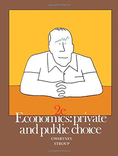 9780123110404: Economics: Private and Public Choice