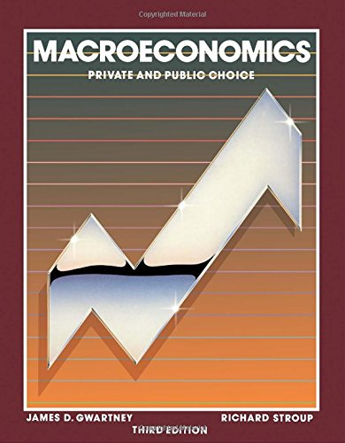9780123110718: Macroeconomics: Private and Public Choice