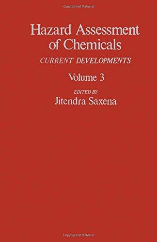 9780123124036: Hazard Assesmt of Chemicals V3 (Hazard Assessment of Chemicals)
