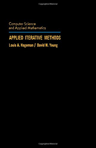 9780123133403: Applied Iterative Methods (Computer Science & Applied Mathematics)
