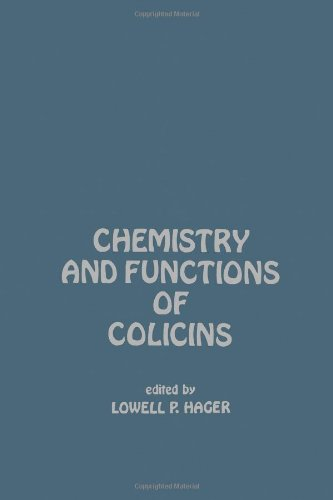 9780123135506: Chemistry and Functions of Colicins