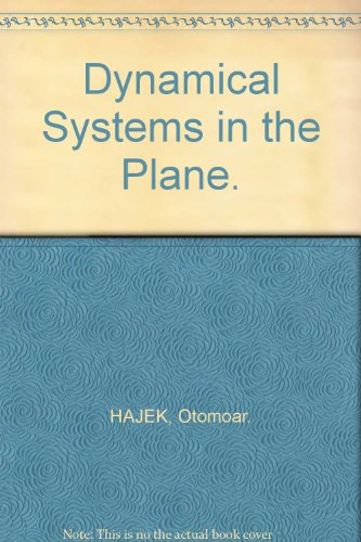 9780123172402: Dynamical Systems in the Plane.