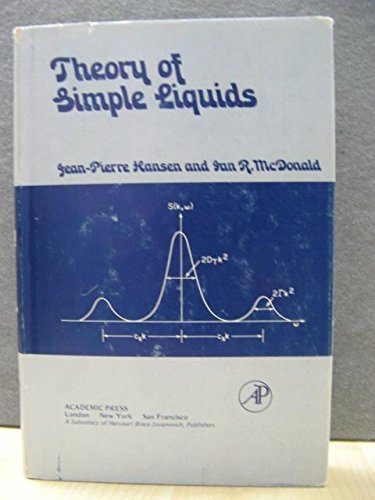9780123238504: Theory of Simple Liquids